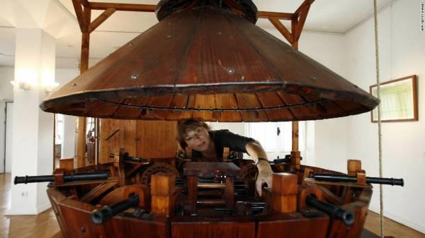 Da Vinci inventions: Inspired engineering - CNN