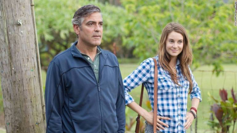 """<strong>""""The Descendants"""":</strong> A Hawaiian lawyer  deals with grief, fatherhood and real estate in the wake of a tragedy in this Oscar-winning film.<strong> (IMDB TV) </strong>"""