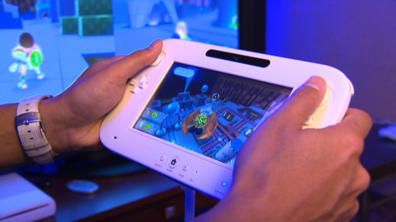 Nintendo s Wii U coming in November   CNN The Nintendo Wii U features a 6 2 inch handheld GamePad that serves as a  second