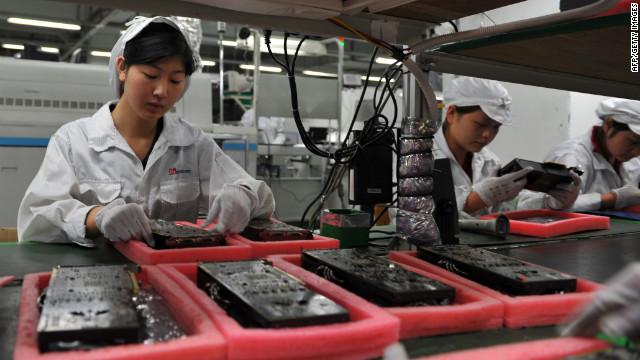 iPhone slowdown achieves Foxconn sales