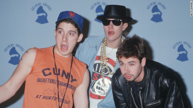 Adam Horovitz, Mike Diamond and Adam Yauch of the Beastie Boys. (Photo by Ron Galella, Ltd./WireImage)