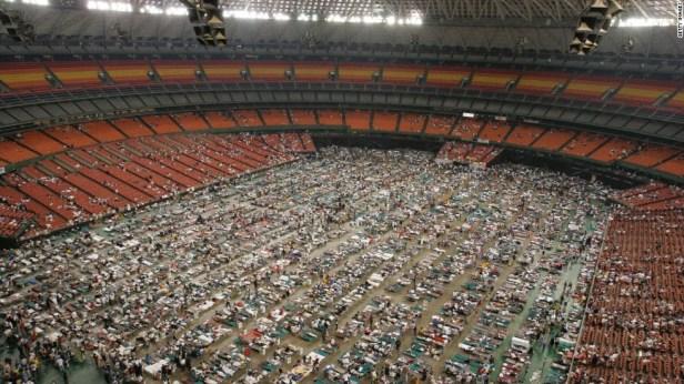 Image result for hurricane katrina sports arena