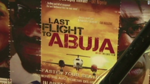 'Last flight to Abuja': Nollywood thriller campaigns for safer skies