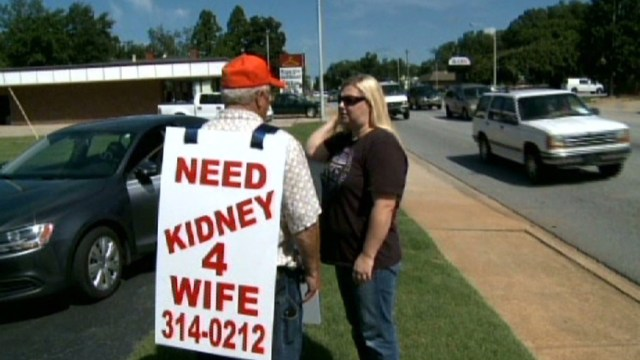 Husband is looking for kidney for his sick wife and it is really heart touching story