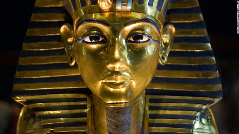 A work of Egyptian art.