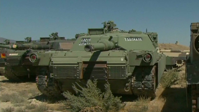 Yes, there will be tanks at Trump's Fourth of July event — but there's a catch