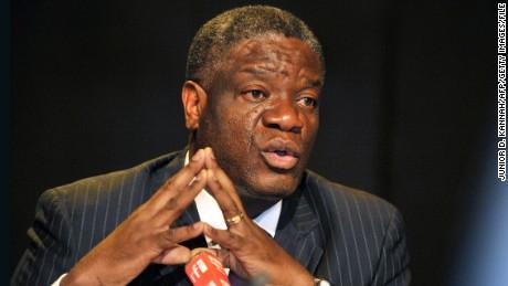 Nobel Peace Prize: Congo rape trauma surgeon among favorites