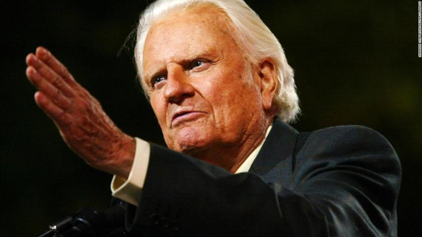 Billy Graham, whose 'matchless voice changed the lives of millions ...