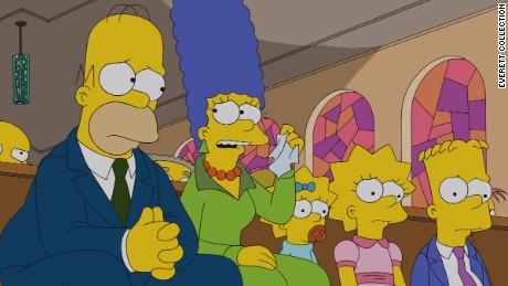 'The Simpsons' remain our psychics