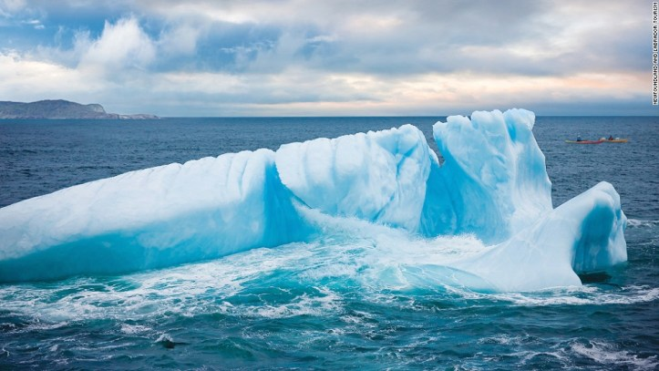 Iceberg viewing is a popular activity in the province of Newfoundland and Labrador. On a sunny day, you can view these 10,000-year-old glacial giants from many points along the northern and eastern coasts of the province, including the Avalon Peninsula (pictured).