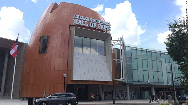 Image result for college football hall of fame atlanta