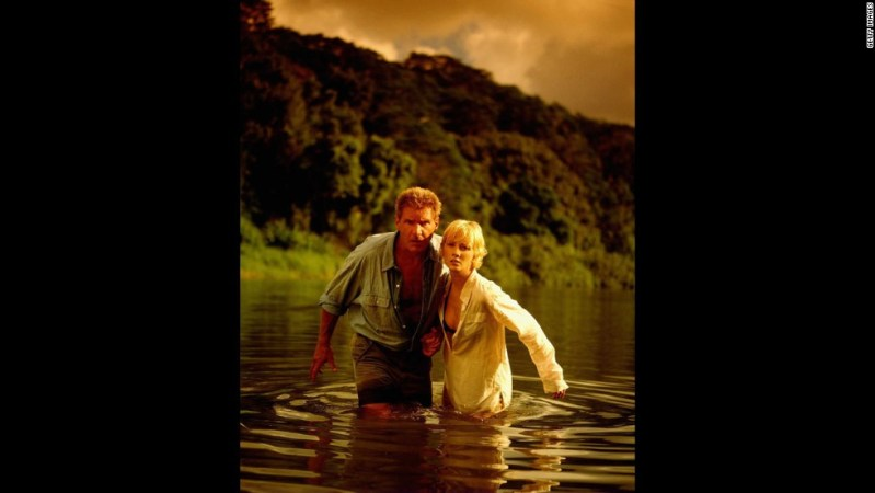 "Harrison Ford and Anne Heche appeared in the movie ""6 Days,7 Nights,"" in 1996 and he also snagged the title and cover."