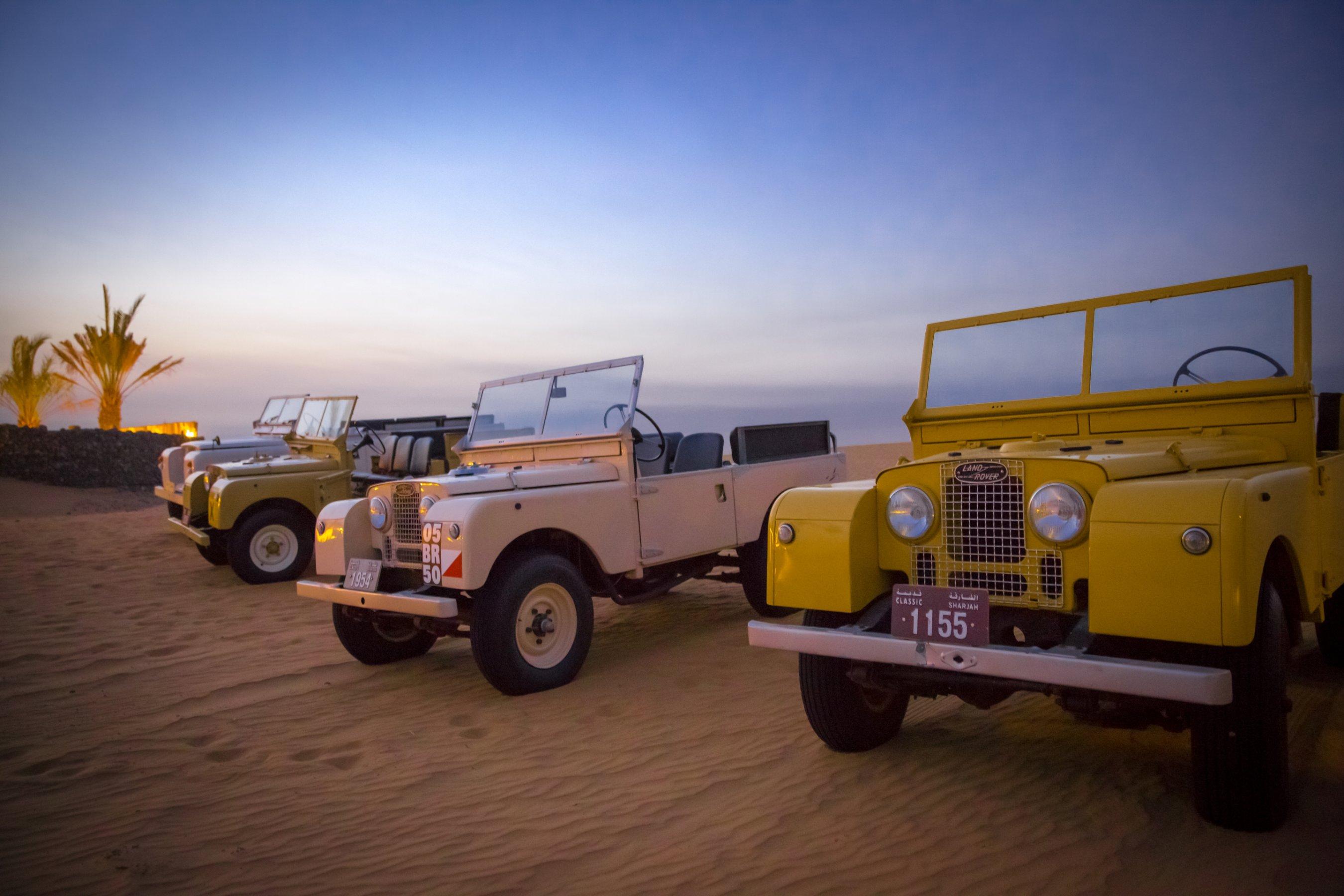 Retro sand safari Doing Dubai s deserts in style