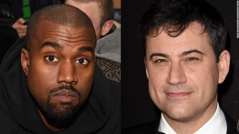 """Kanye West gave Jimmy Kimmel the rap feud he's always wanted. After <a href=""""http://www.youtube.com/watch?v=It05EvqFD6s&feature=c4-overview&list=UUa6vGFO9ty8v5KZJXQxdhaw"""" target=""""_blank"""">Kimmel poked fun at West's 2013 interview</a> with the BBC -- in which the entertainer called himself the No. 1 rock star on the planet -- <a href=""""https://twitter.com/kanyewest/with_replies"""" target=""""_blank"""">West went to Twitter to air his profane grievances</a> (in all caps, of course). The two later made amends with a televised sit-down."""