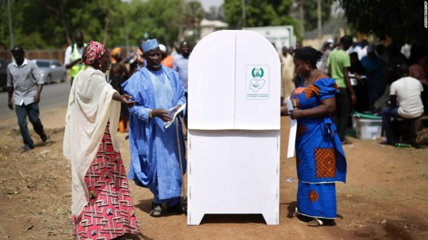 Nigerian presidential election extended one day - CNN