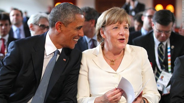 Obama, Merkel: Best friends in Bavaria