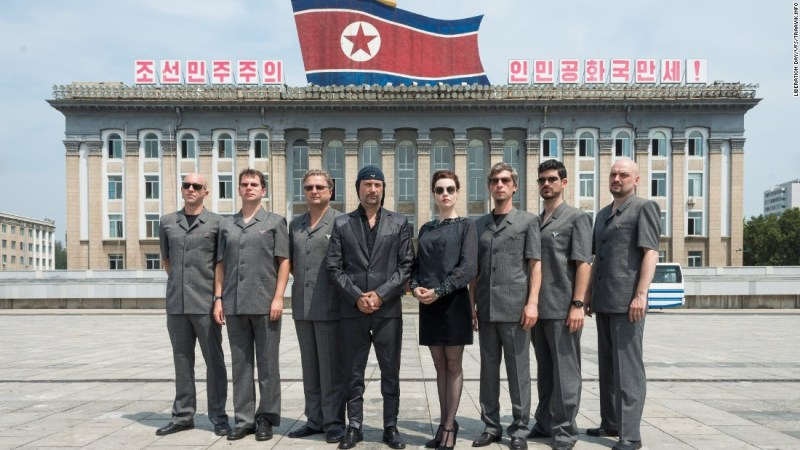 Slovenian rock band Laibach is one of the first Western groups to ever play in North Korea.