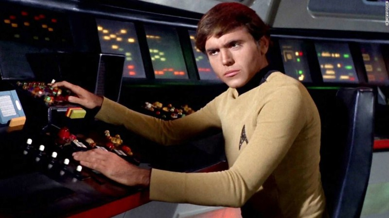 Walter Koenig was brought in for the show's second season to play Chekov, the navigator of the starship Enterprise. He bore some resemblance to members of the Beatles.