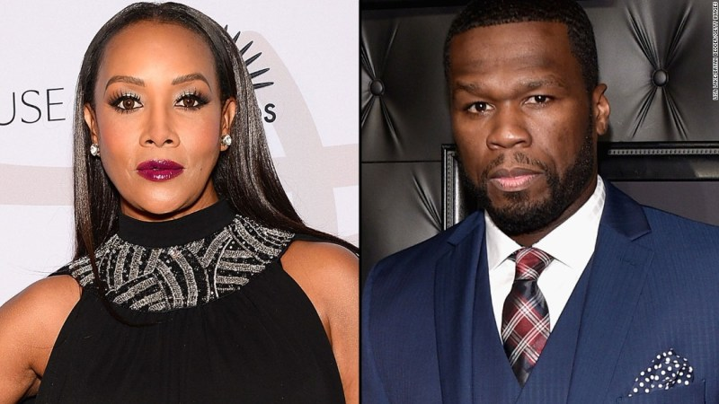 """Actress Vivica A. Fox set it off in November when she appeared on Bravo's """"Watch What Happens Live"""" and implied to host Andy Cohen that her former love interest 50 Cent might be gay. She went on to say that he's not but that some of his actions gave her pause. The rapper responded with a few profane <a href=""""https://instagram.com/50cent/"""" target=""""_blank"""">Instagram posts. </a>"""