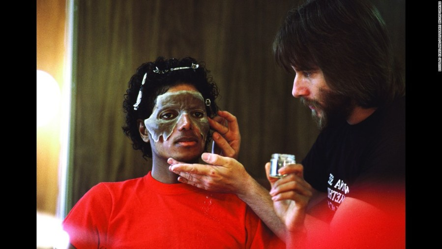 Behind the scenes of Michael Jackson s  Thriller  The plot of  quot Thriller quot  is two fold  In part of it