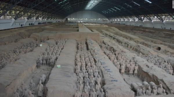Terracotta warriors thumb stolen in Philadelphia museum CNN