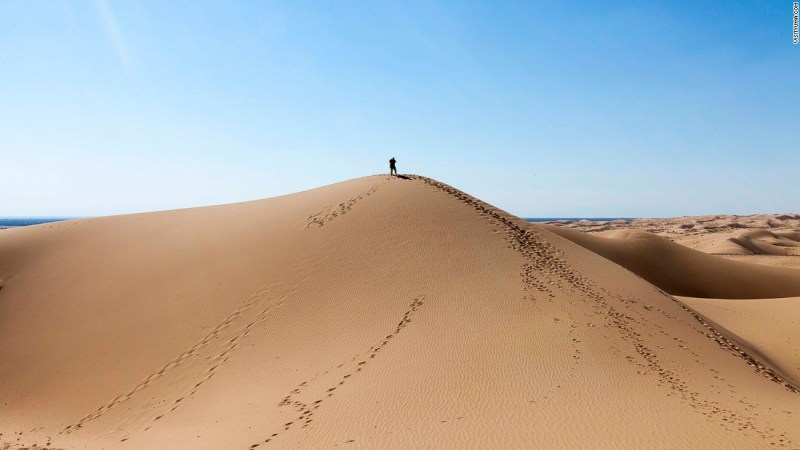 """<strong>Great Pit of Carkoon (Buttercup Valley, Yuma Desert, Arizona): </strong>The Great Pit of Carkoon, home to the sarlacc that eats Jabba's prisoners in """"Return of the Jedi,"""" was filmed in Arizona rather than Tunisia."""