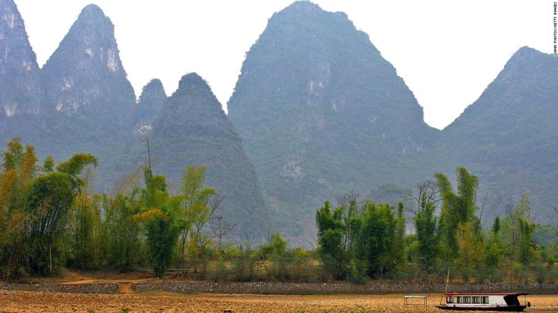 """<strong>Kashyyyk (Guilin, China): </strong>Thailand and southern China might be warm for a hairy Wookiee, but that didn't stop them being used as doubles for Chewbacca's home planet of Kashyyyk in """"Revenge of the Sith."""""""