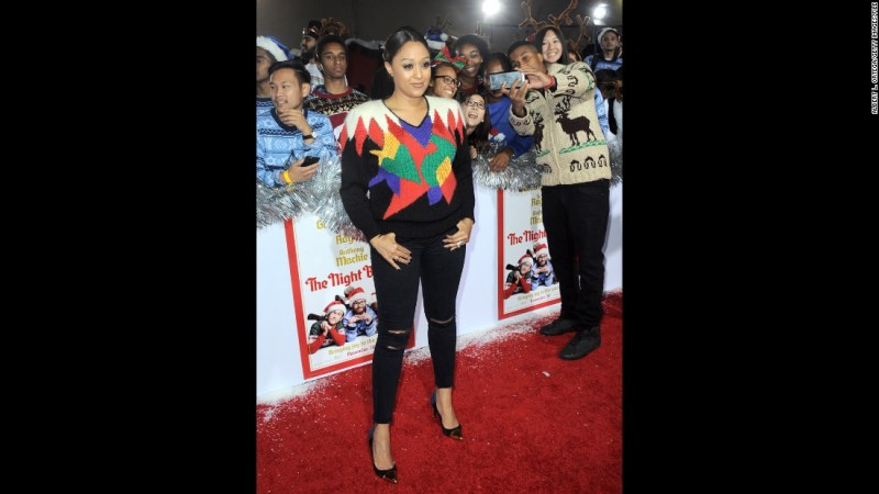 "Actress Tia Mowry <a href=""http://www.cnn.com/2015/12/08/entertainment/tia-mowry-body-shaming-feat/index.html"">said in December that she has been the subject of negative comments</a> on Instagram since gaining weight. Questions about whether she is pregnant amount to body-shaming, she said."