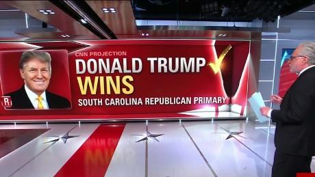 Donald Trump, Hillary Clinton win big; Jeb Bush exits ...