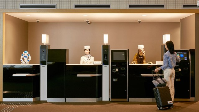Hotel staffed by robots? It's not science fiction -- it's now | CNN Travel