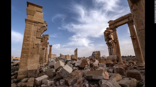 Syria: ISIS destroys part of Roman theater in Palmyra - CNN