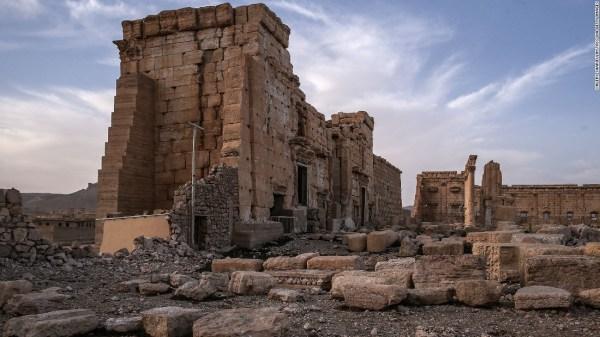 How ISIS ravaged Palmyra's world treasures