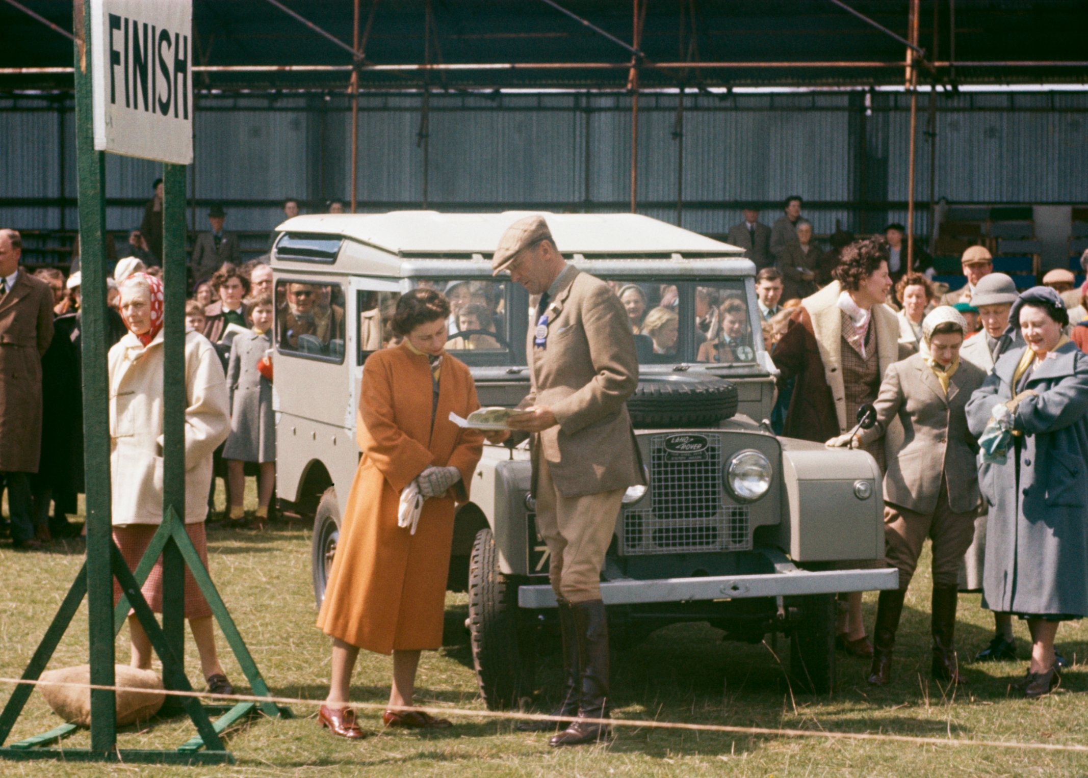 Land Rover A car fit for the Queen CNN Style
