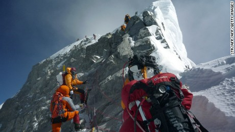 Why Mount Everest is the wild climb they can't resist