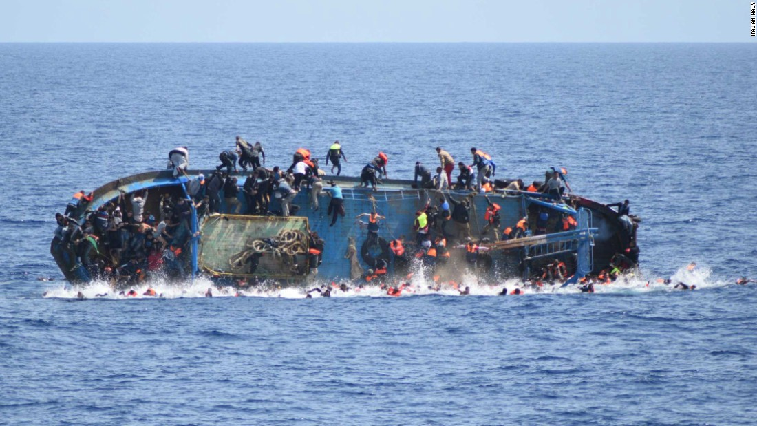 Image result for migrants in Libya, photos