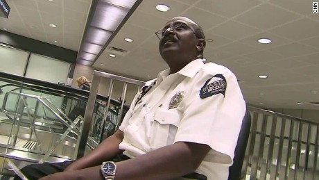 Federal agencies knew airport guard was accused war criminal