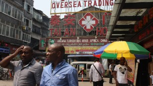 The African migrants giving up on the Chinese dream