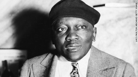 Who was Jack Johnson, the boxer who Trump posthumously pardoned?
