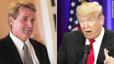 Image result for trump jeff flake