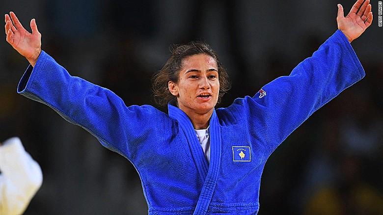 Majlinda Kelmendi: Kosovo's first Olympic medalist - CNN