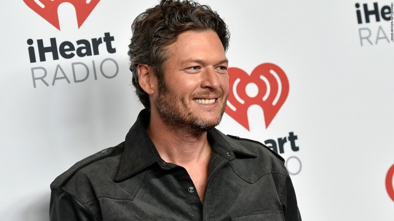 "Country star and ""The Voice"" coach Blake Shelton earned in honor in 2017."