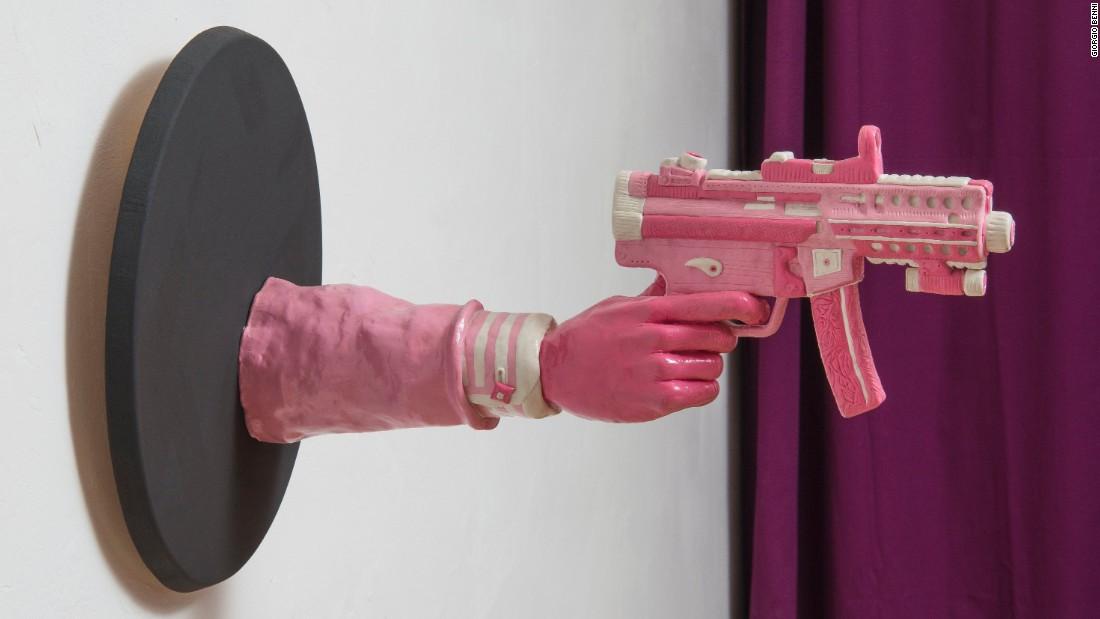 Image result for bubble gum gun