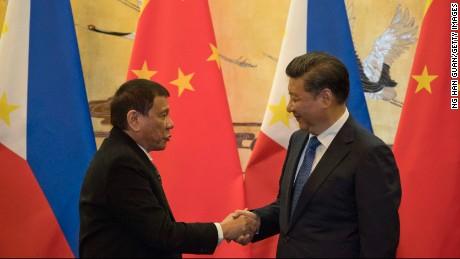 Philippines President Rodrigo Duterte says he needs China, 'loves' Xi Jinping
