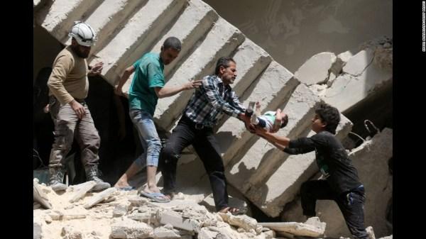 Syrian regime says it has taken full control of Aleppo - CNN