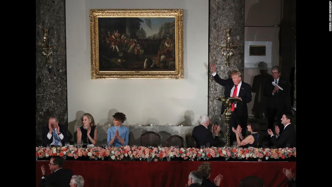 Donald Trumps Inauguration Day