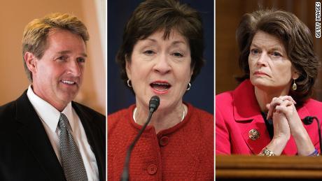 The Kavanaugh math: 2 or 3 senators will decide judge's fate