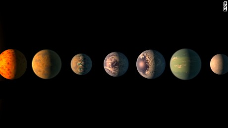 These seven Earth-sized exoplanets named after beer may be incredibly similar