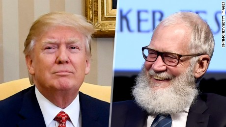 David Letterman wants to put Trump in a home
