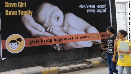 Gender discrimination kills 239,000 girls in India every year, finds study