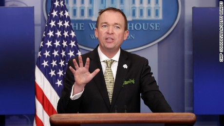 Image result for White House Budget Director Mick Mulvaney, photos